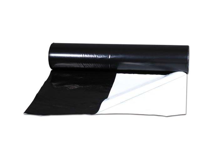 Bílo-černá folie 100m x 2m