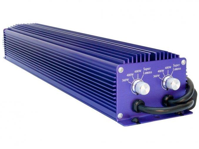 Digitální předřadník Lumatek TWIN 600W - 230V