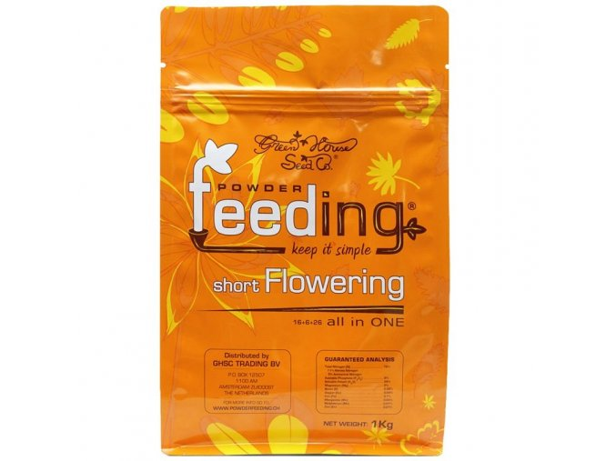 powder feeding short flowering