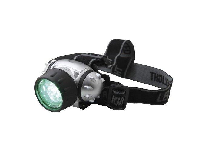 LED Headlight - čelovka zelená
