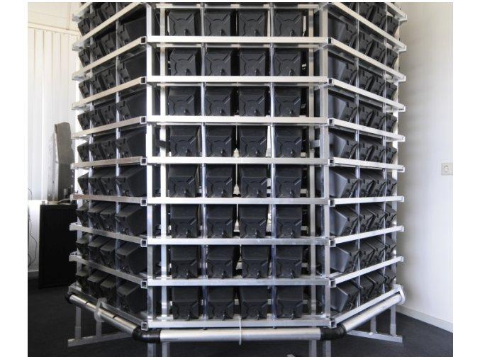 777 Pi Rack detail