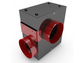 Black Orchid - Acoustica - Silent Inline Box Fan 400-850m3/h