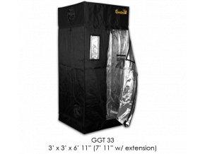 Gorilla Grow Tent 92x92x210-240 cm