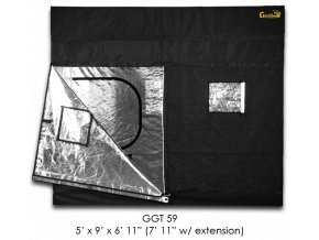 Gorilla Grow Tent 274x152x210-240 cm