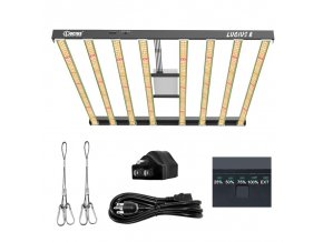Lucius8 800W LED Grow Light Full Spectrum for Indoor Plants and Flower Greenhouse