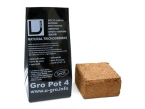 UGro Pot 4 - lisovaný kokos vč.nádoby 4L