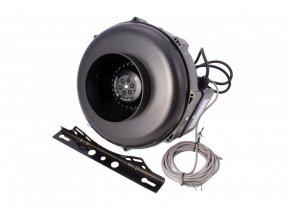 NTS UFO Fan 125RT 0-430m3/h regulace otáček, termostat