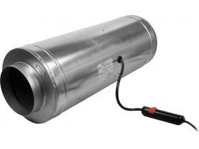Can-Fan ISO-MAX, 870 m3/h, příruba 200mm, 3 rychlosti