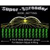 Stínidlo Adjust-A-Wings Avenger Medium + objímka + tepelný štít