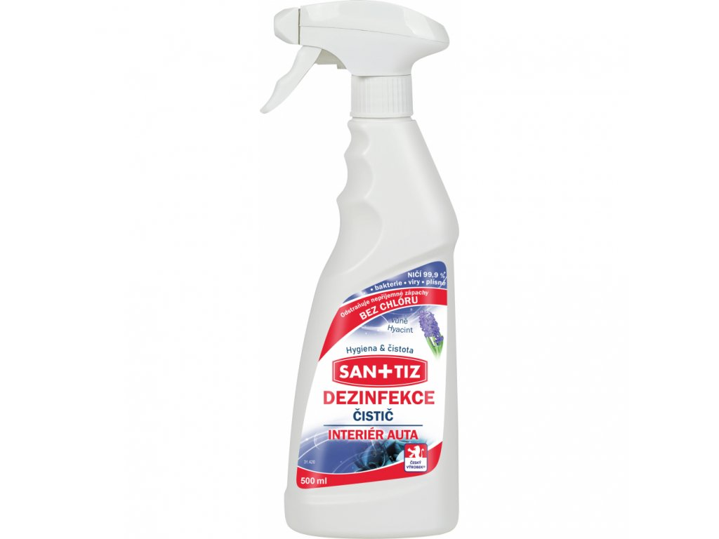 sanitiz dezinfekce pro interier automobilu 500 ml