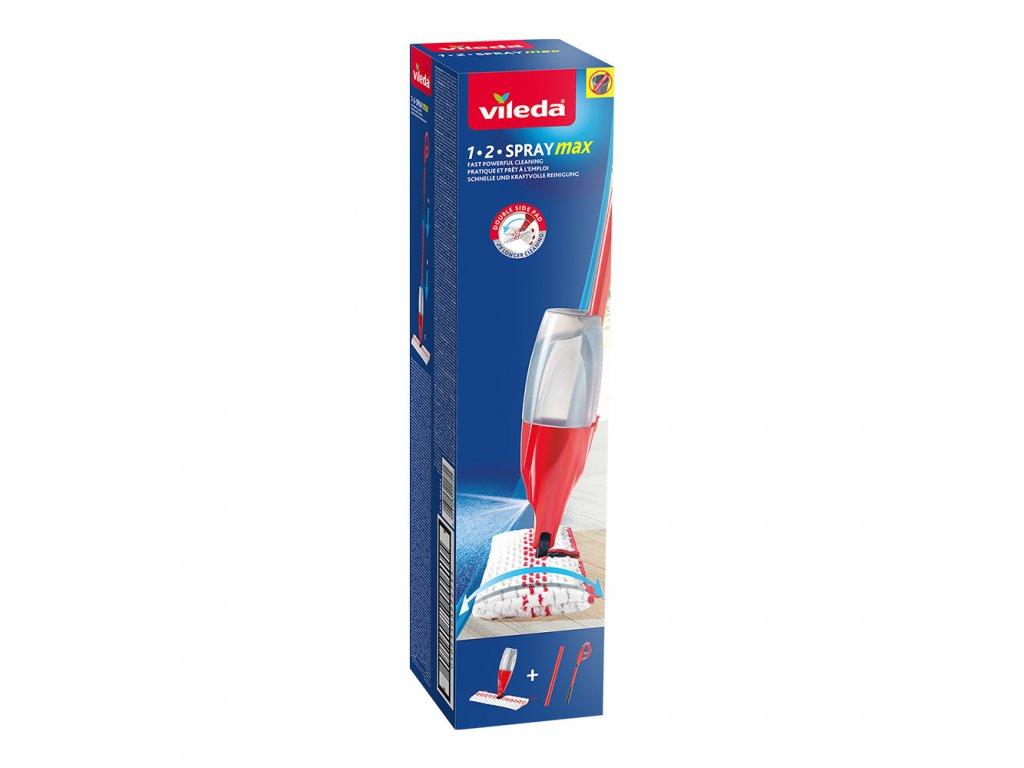 vileda 1 2 spray max mop box
