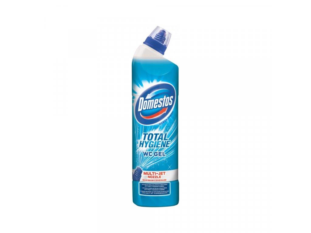 717103 domestos wc gel total hygiene ocean fresh 700ml rgb