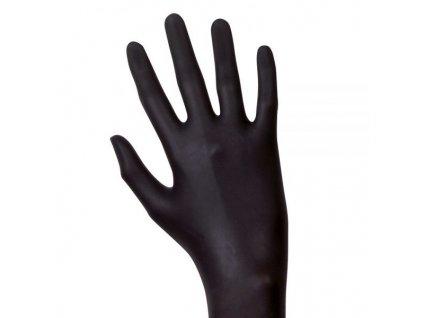 Nitrilové rukavice - černé 100ks