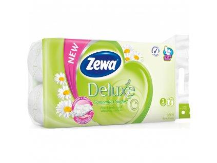 Zewa deluxe 3vr. toaletní papír 8rolí (19,3m)