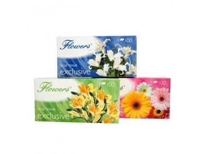 flowers exclusive kapesníčky