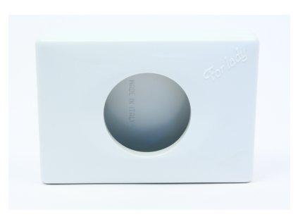 Zásobník hygienických mikrotenových sáčků bílý (117)