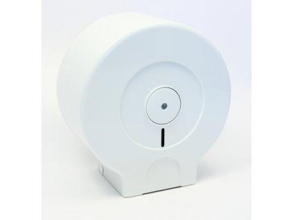 Zásobník na toal. papír JUMBO 19cm Bílý (107)