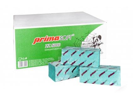Papírové ručníky ZZ zelené 5000ks (239)