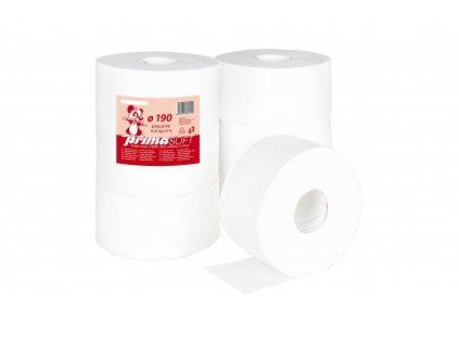 Toaletní Papír Jumbo průměr 19cm/2vr. celulóza bal/12rol (217E)