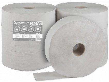 T.Papír Jumbo 28cm/1vr. recykl bal/6rol (201)