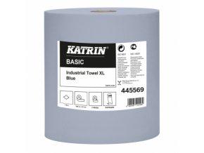 Čistící papír Katrin 445569 modrý 2-role