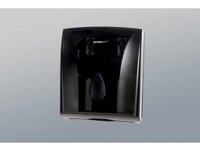 Zásobník papírových ručníků ZZ černý PS