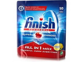 finish powerball all in 1 max lemon tablety do mycky nadobi 50 ks