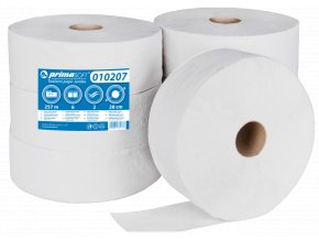 T.Papír Jumbo 28cm/2vr. bílý recykl bal/6rol (211)