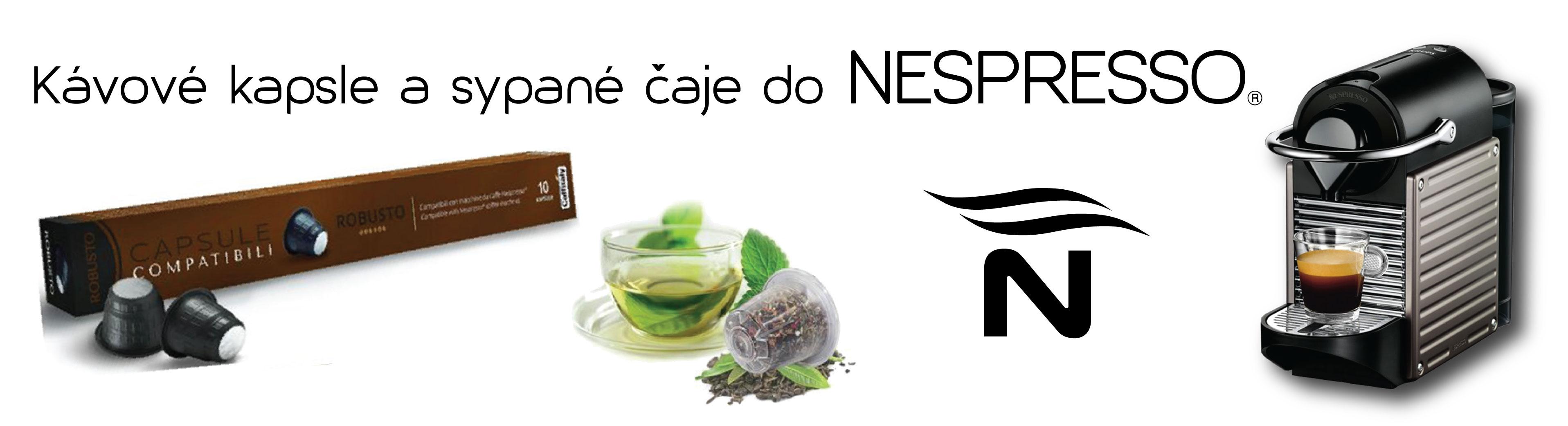 Kávové kapsle do Nespresso