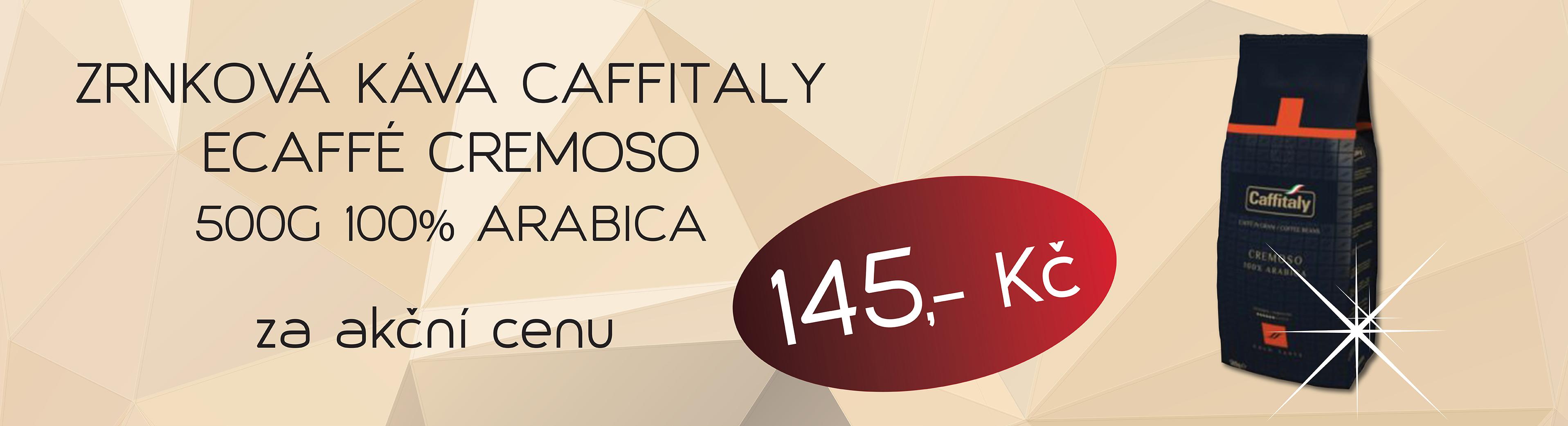 Caffitaly Cremoso 500g akční ponuka