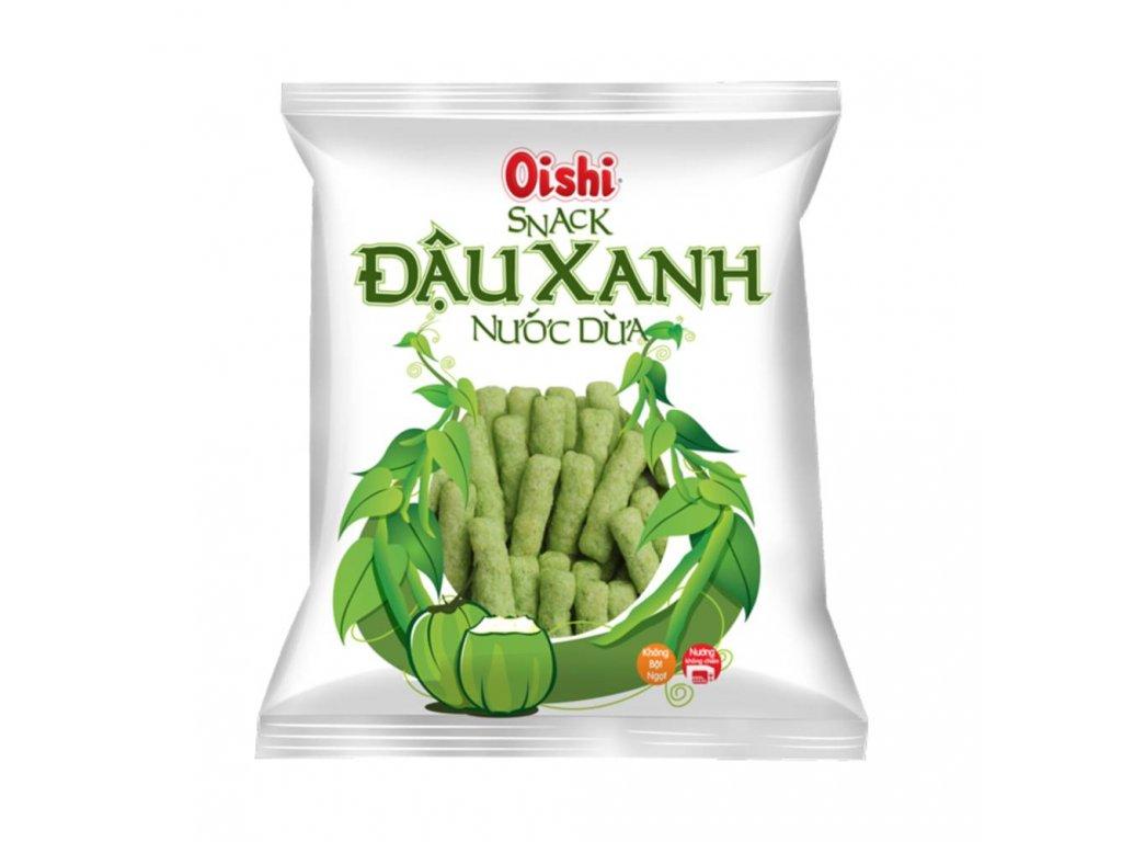 oishi snack dauxanh nejkafe