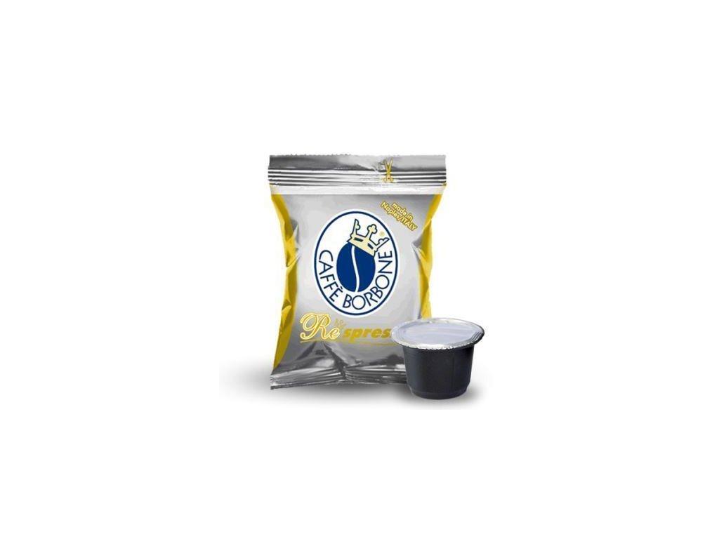 0000694 100 capsule borbone respresso miscela oro compatibili nespresso