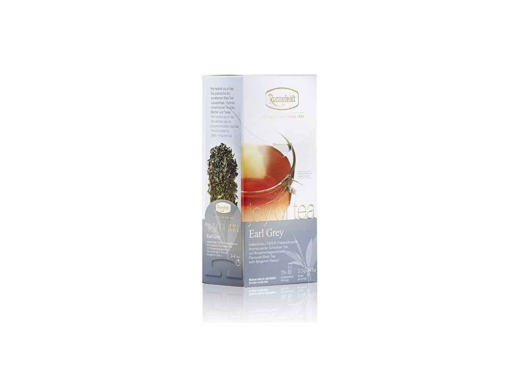 Čaj Ronnefeldt Joy of Tea Earl Grey 15 sáčků