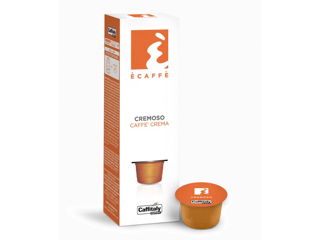 Kapsle Caffitaly s krémovou kávou Cremoso 10kusů do Tchibo Cafissimo