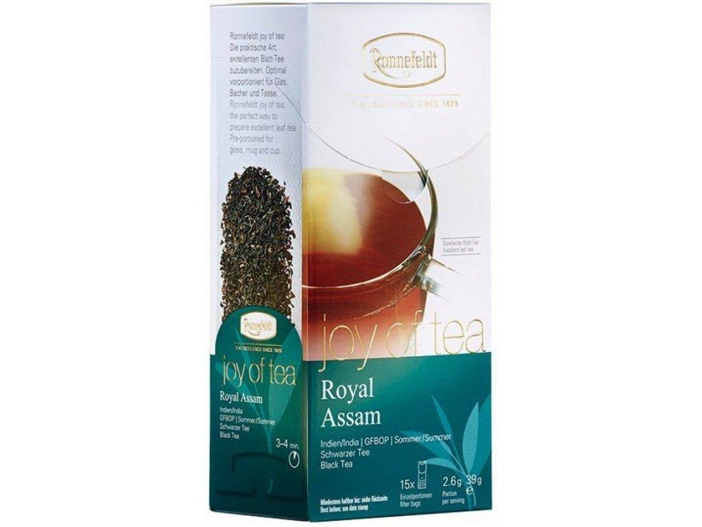 Čaj Ronnefeldt Joy of Tea Royal Assam 15 sáčků