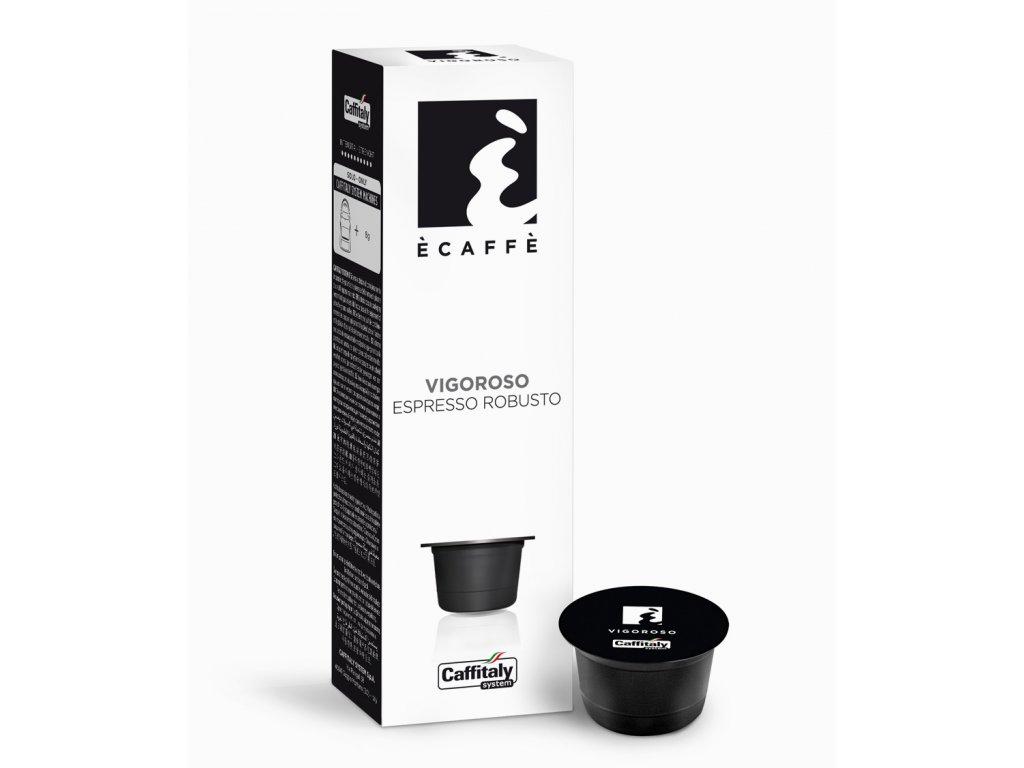 Kapsle Caffitaly espresso s bohatou chutí Vigoroso 10kusů do Tchibo Cafissimo