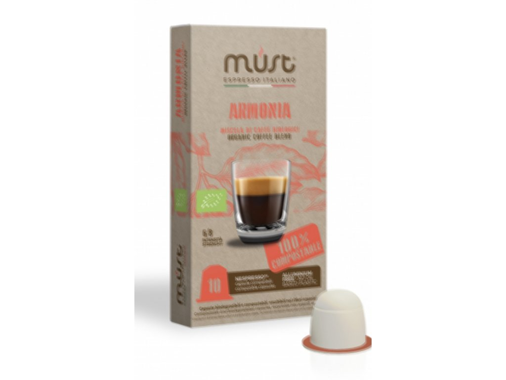 kavove kapsle do nespresso must 10 ks armonia nejkafe cz