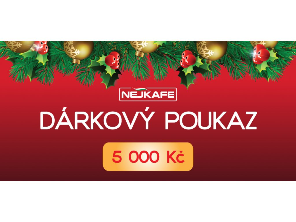 DarkovyPoukaz 5000