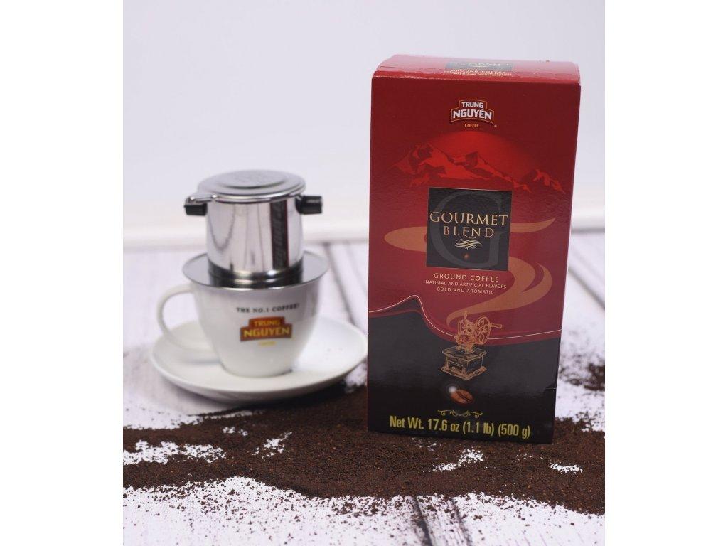 Mletá káva Trung Nguyen Gourmet BLEND 500g