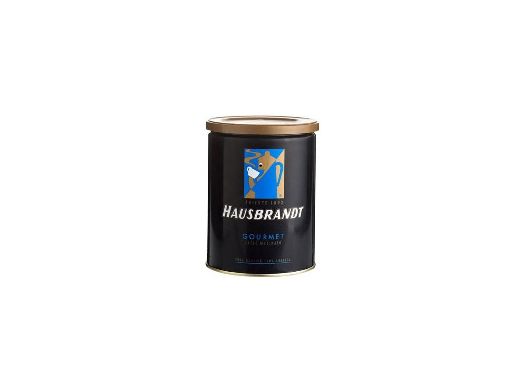 hausbrandt gourmet mleta kava v plechovce 250 g 201902011506531463162831