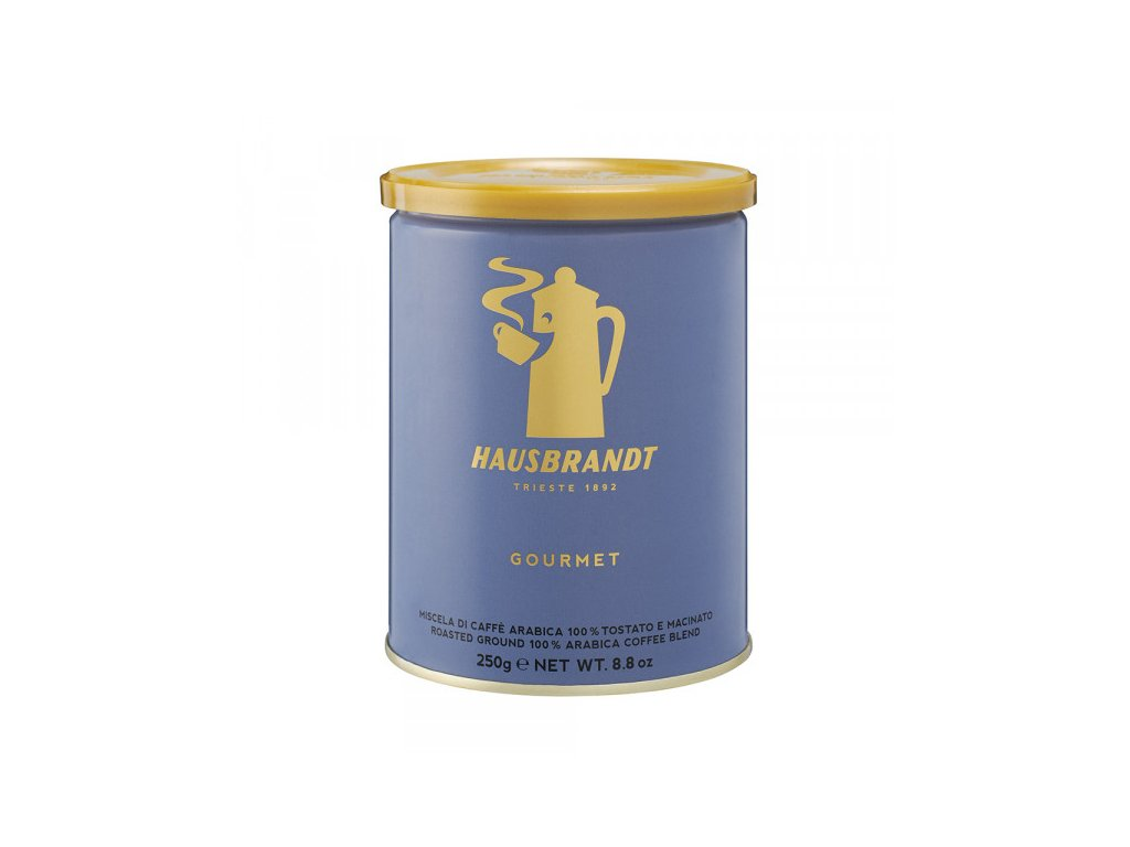hausbbrandt gourment 250 g mleta kava nejkafe cz