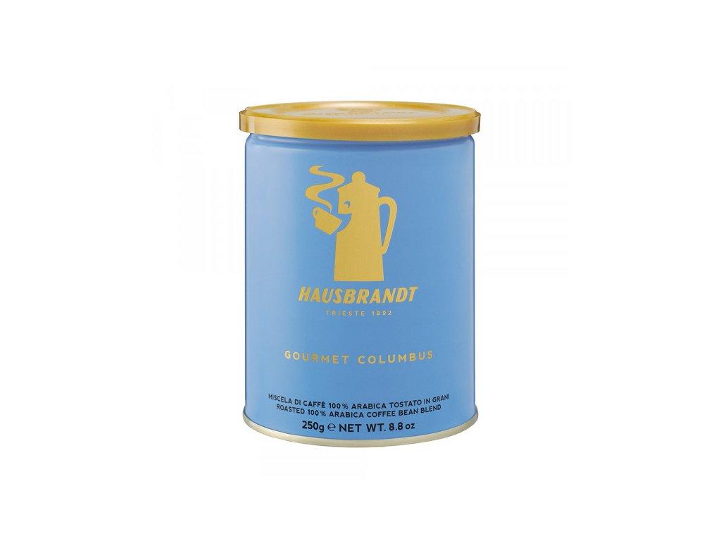 hausbbrandt gourment columbus 250 g mleta kava nejkafe cz