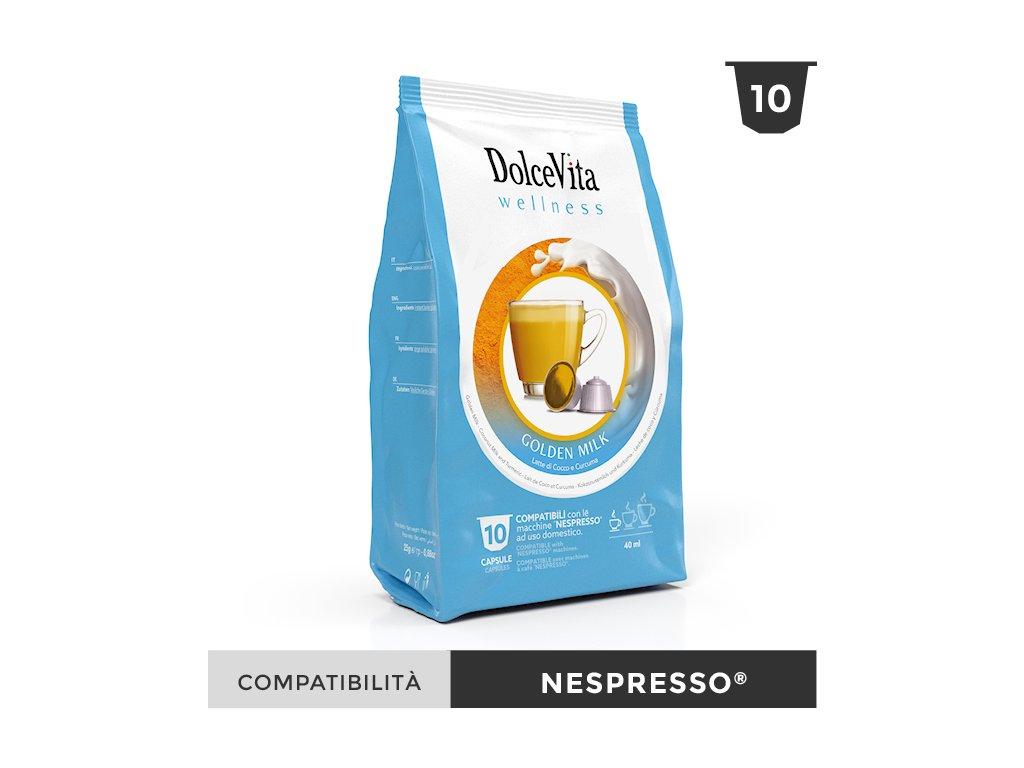 DOLCEVITA wellness goldenmilk nespresso
