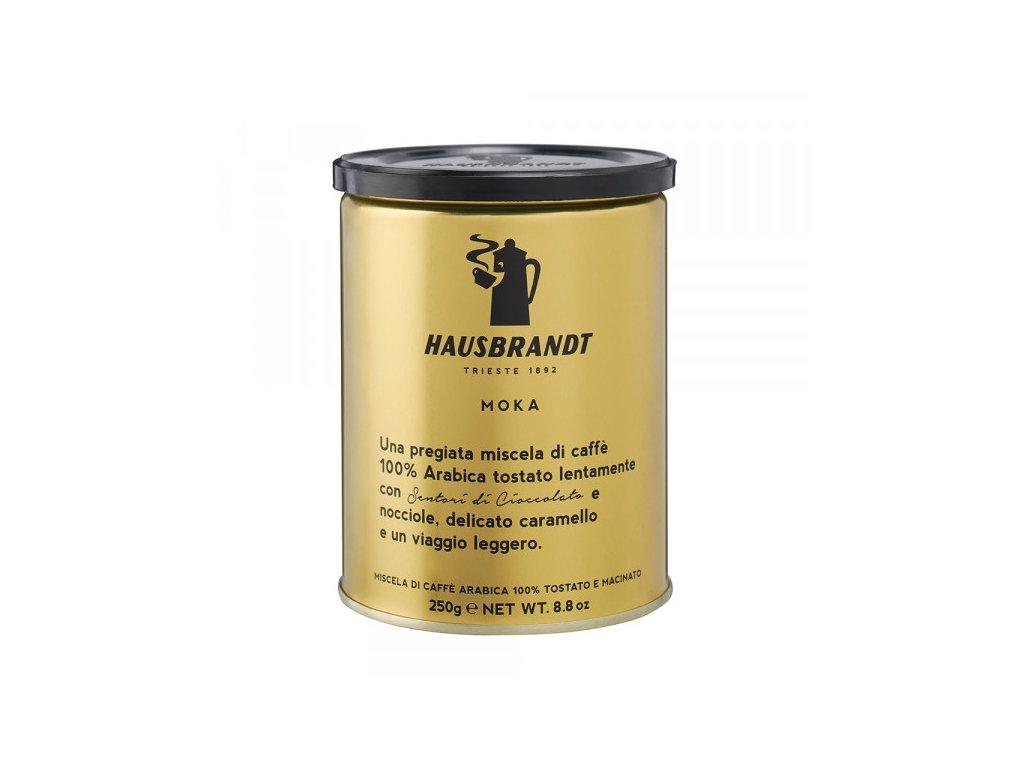 hausbbrandt moka 250 g mleta kava nejkafe cz