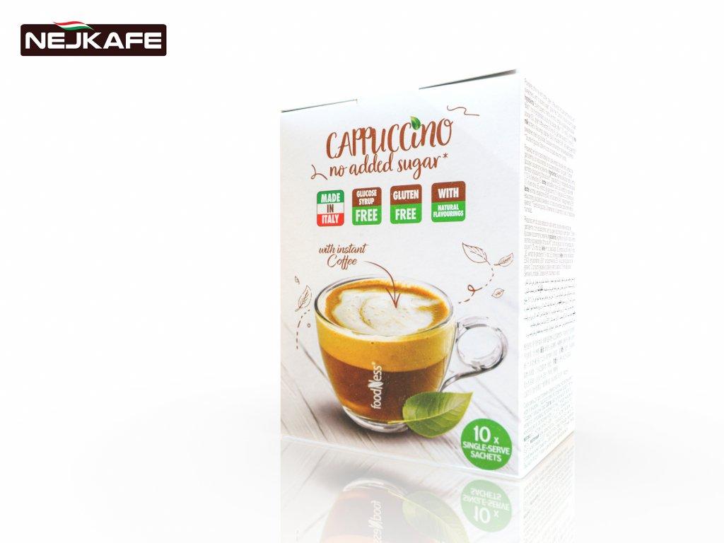 FoodNess Rozpustné Intenzivní Cappuccino 10Ks