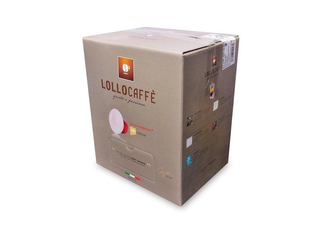 Kávové kapsle Lollo caffé Argento Espresso do NESPRESSO® 100 kusů