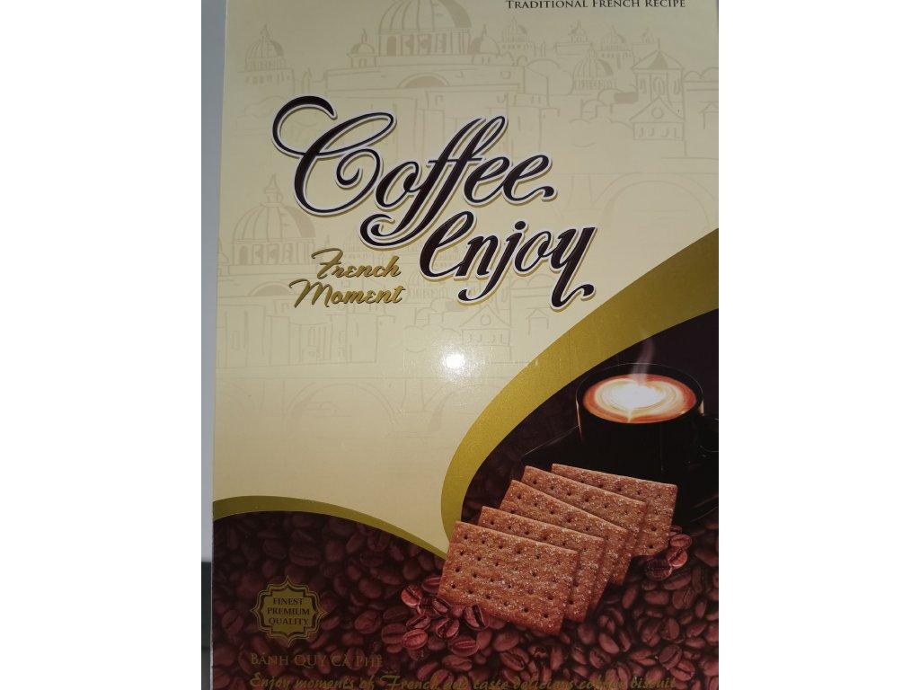 Kávové Vietnamské sušenky s čokoládou MY LIEN Coffee enjoy 400g