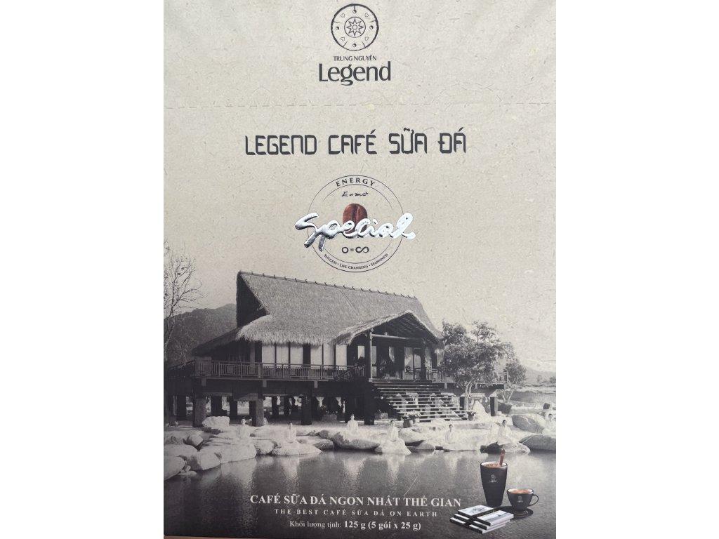 Trung Nguyen Legend Café SUA DA Instantní káva 5 x 25g