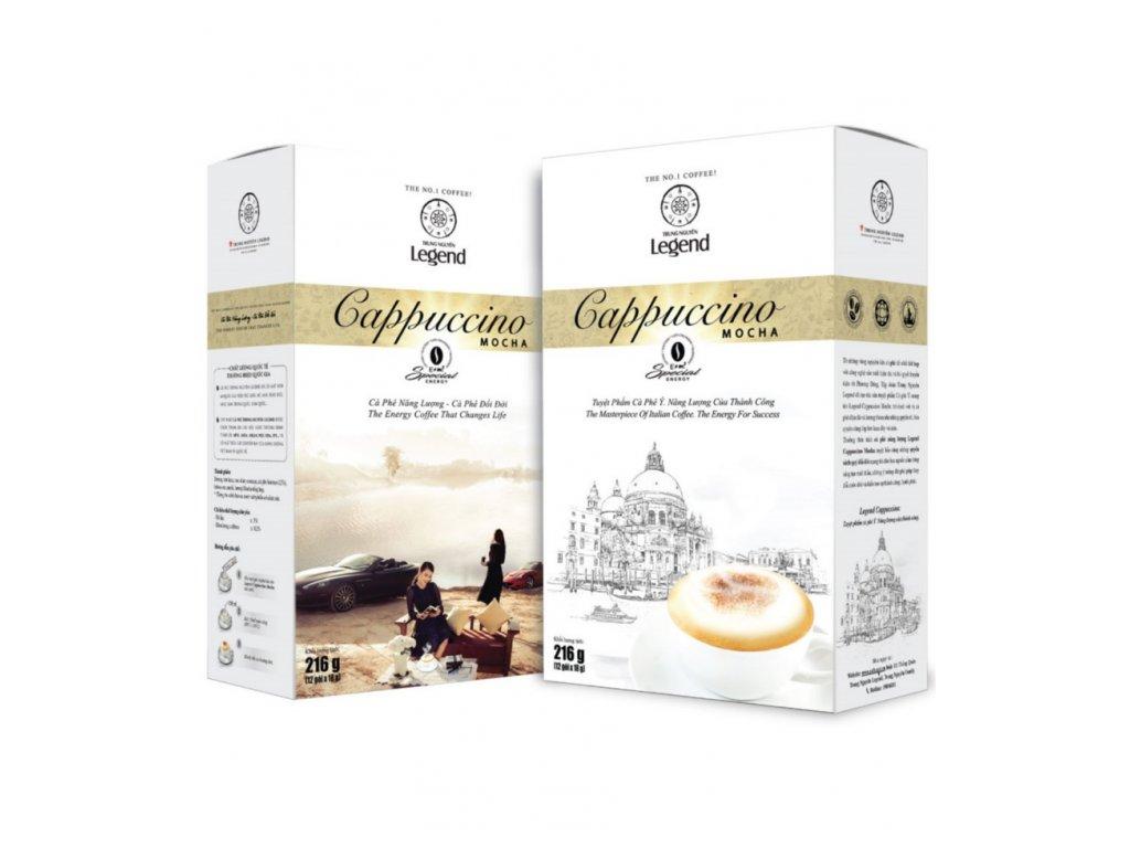 Instantní vietnamská káva Trung Nguyen Legend Capuccino Mocha 216g Nejkafe.cz