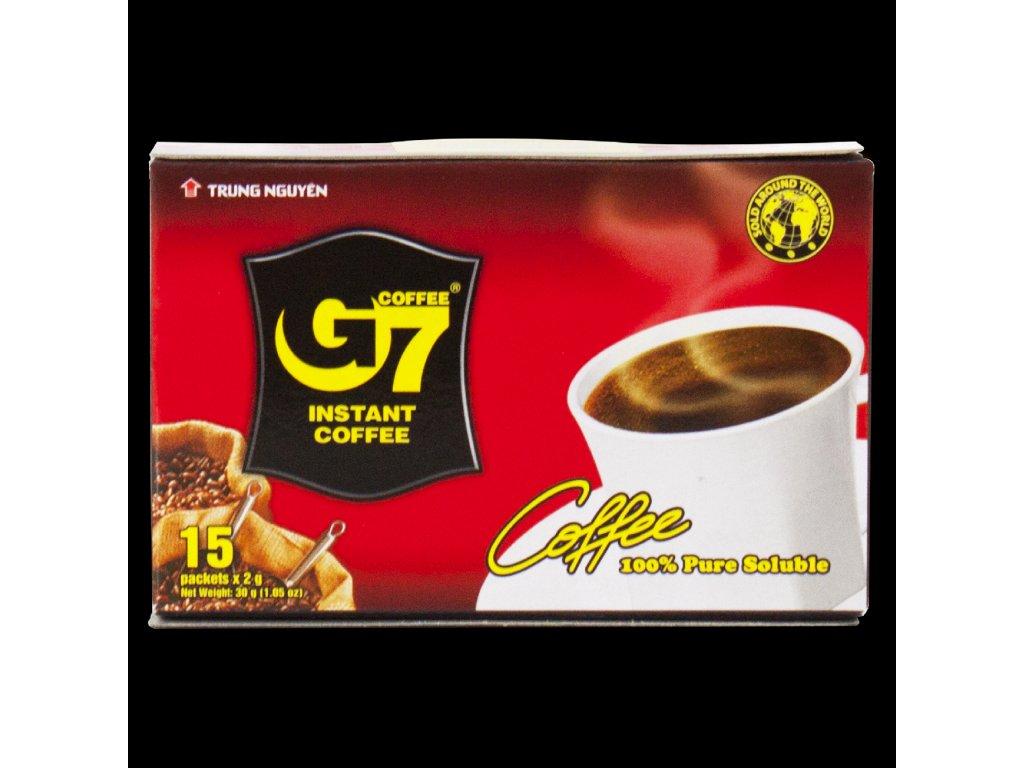 Instantní vietnamská káva Trung Nguyen G7 Pure Black 2 v 1 30g Nejkafe.cz